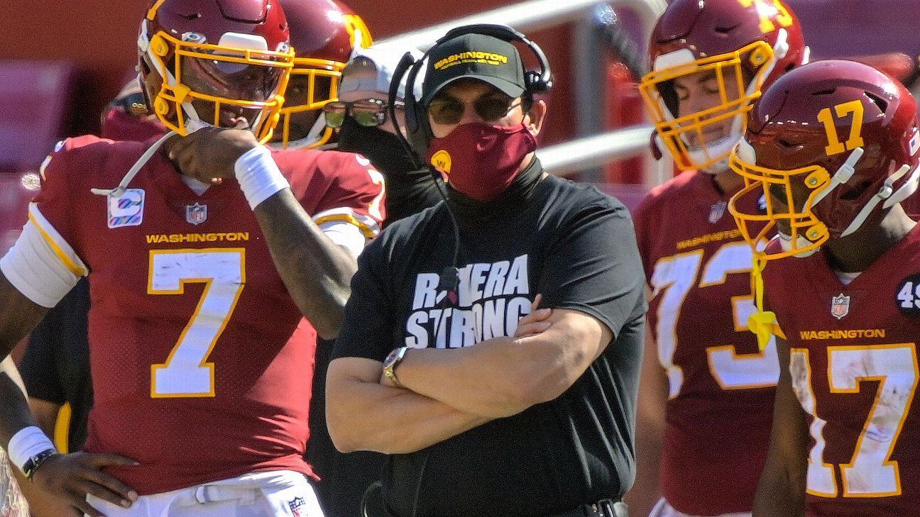Rivera cites 'gut feelings' for quarterback change