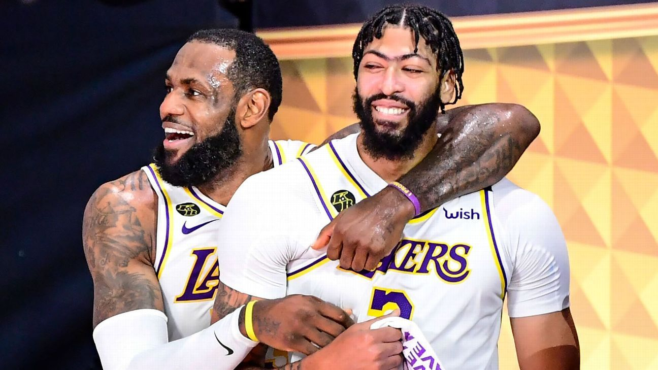 Los Angeles Lakers Lean On Defense In Dominant Game 6 Win Vs Miami Heat Claim First Nba Title In A Decade
