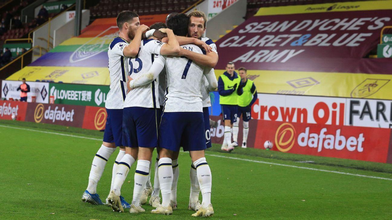Burnley vs. Tottenham Hotspur - Reporte del Partido - 26 octubre, 2020 - ESPN