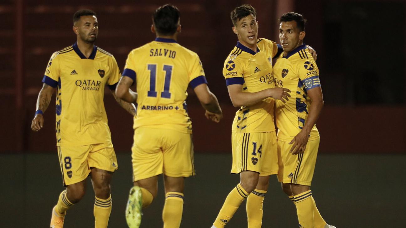 Lanús vs. Boca Juniors - Reporte del Partido - 31 octubre, 2020 - ESPN