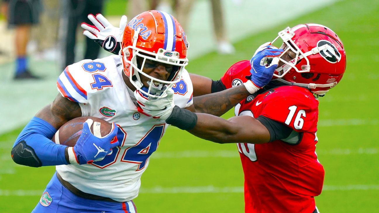 Florida Gators TE Kyle Pitts questionable with concussion