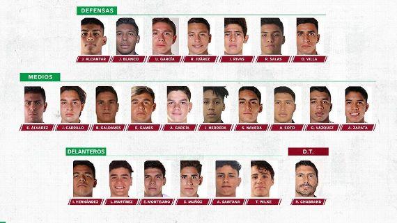 Tri Sub-20 inicia concentración con Teun Wilke, el 'Vidalcito' mexicano y delantero de Rosario Central