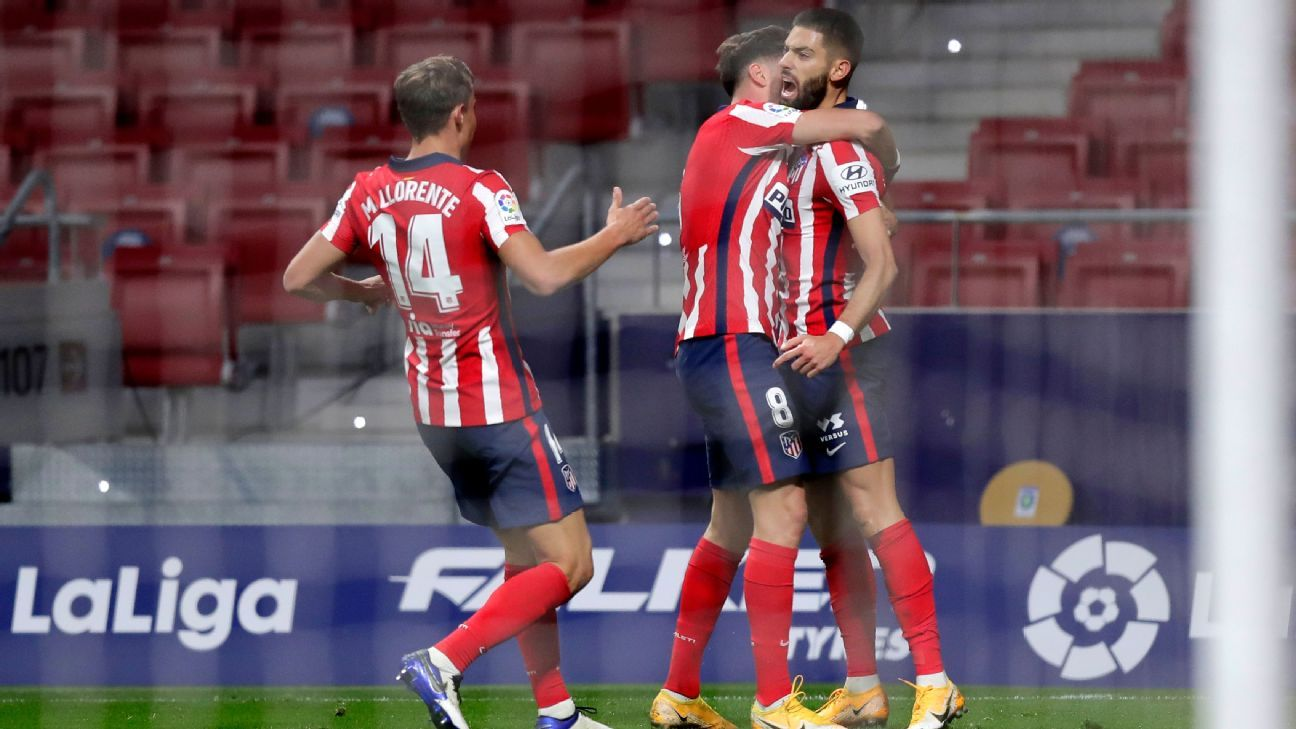 With Barcelona in disarray, Real Madrid faltering, La Liga is Atletico Madrid's for the taking - ESPN.co.uk