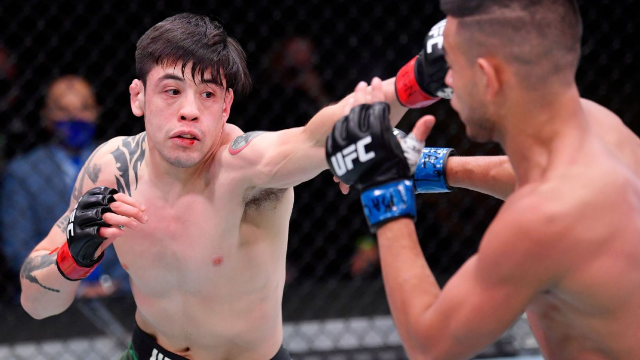 Ufc 255 Results Brandon Moreno Eyes Title Shot Joaquin Buckley Gets Another Ko