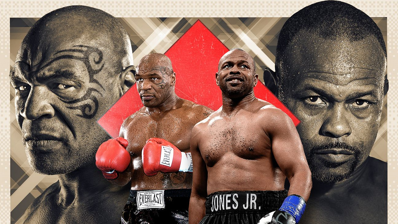 Watch Mike Tyson vs. Roy Jones Jr 11/28/20