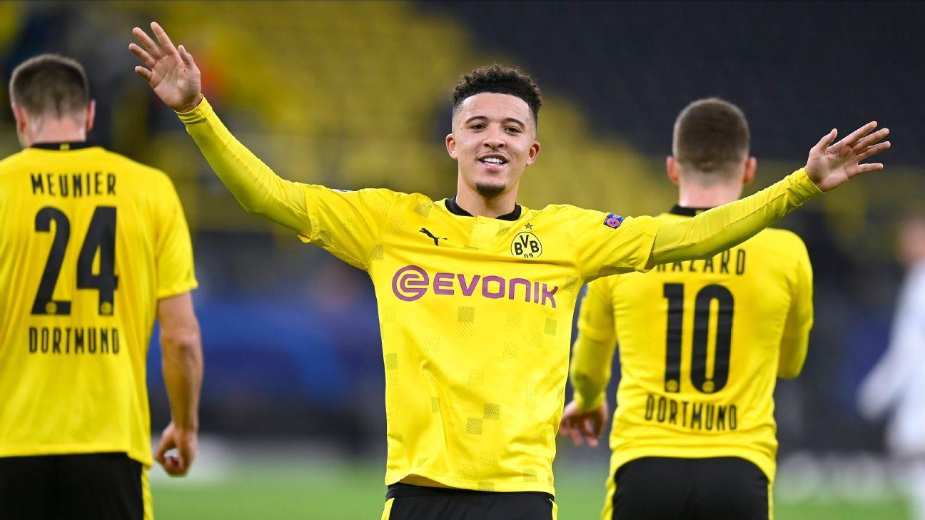 Dortmunds Sancho admits hard spell after Man United transfer saga - ESPN