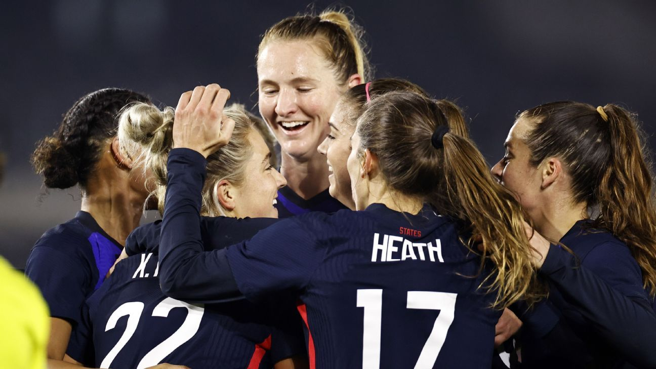 Mewis back with USWNT to face Sweden, France