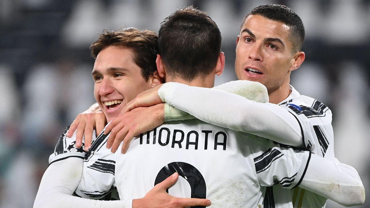 Juventus vs. Dynamo Kiev - Reporte del Partido - 2 diciembre, 2020 - ESPN