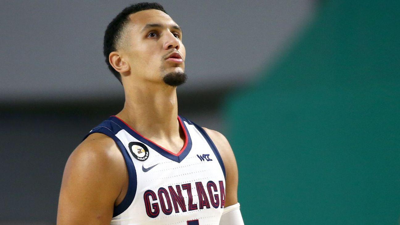 Gonzaga Bulldogs star freshman guard Jalen Suggs to enter NBA draft
