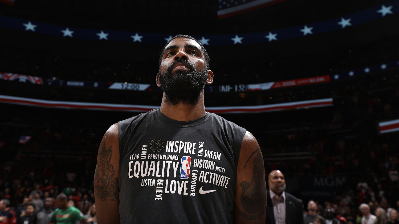 Brooklyn Nets' Kyrie Irving bought house for family of George Floyd, former NBA player Stephen Jackson says - ESPN Australia
