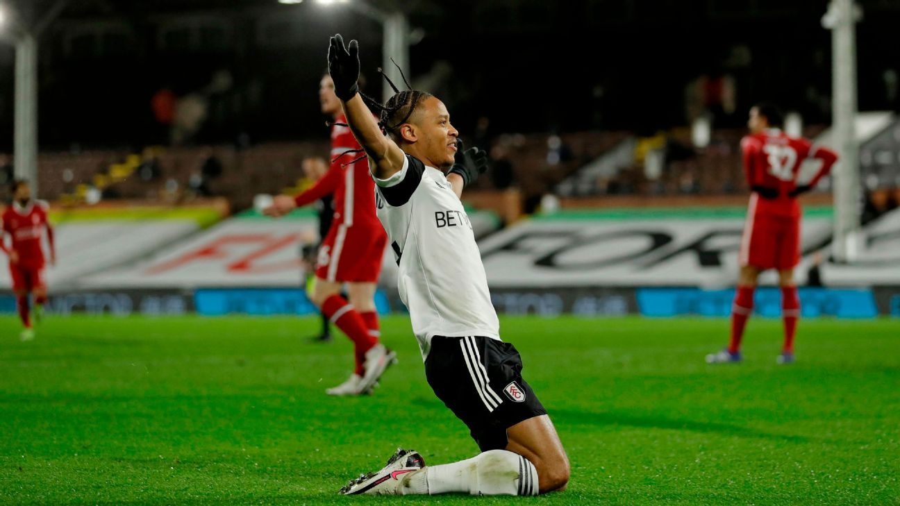 Fulham Vs Liverpool Football Match Report December 13 2020 Espn