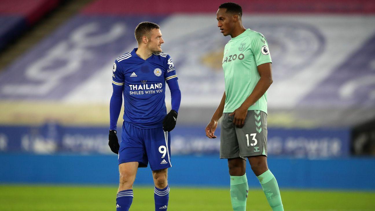 Mina anuló a Vardy en la segunda victoria consecutiva de Everton en la Premier