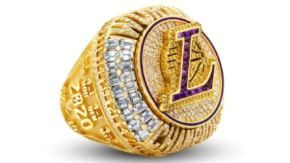 Los Angeles Lakers Championship Rings Pay Tribute To Kobe Bryant Social Justice Movement