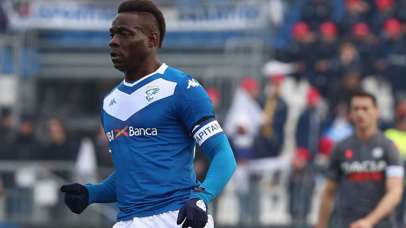 Balotelli, in Serie B, nets in 1st match since March