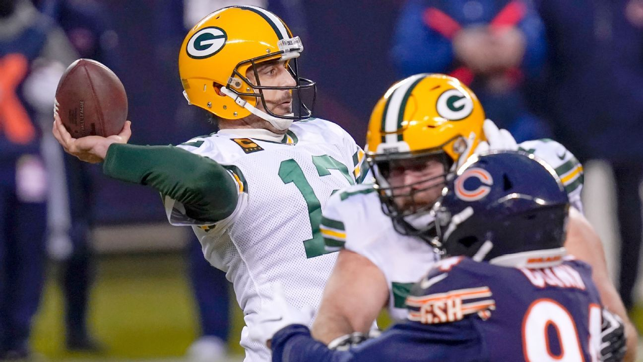 Notable bets: Aaron Rodgers owns the Bears, and Chicago bettors know it