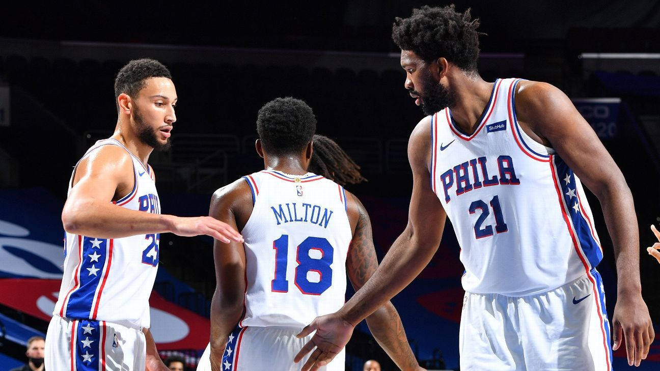 Morey: 25-26 teams would 'love' 76ers' situation