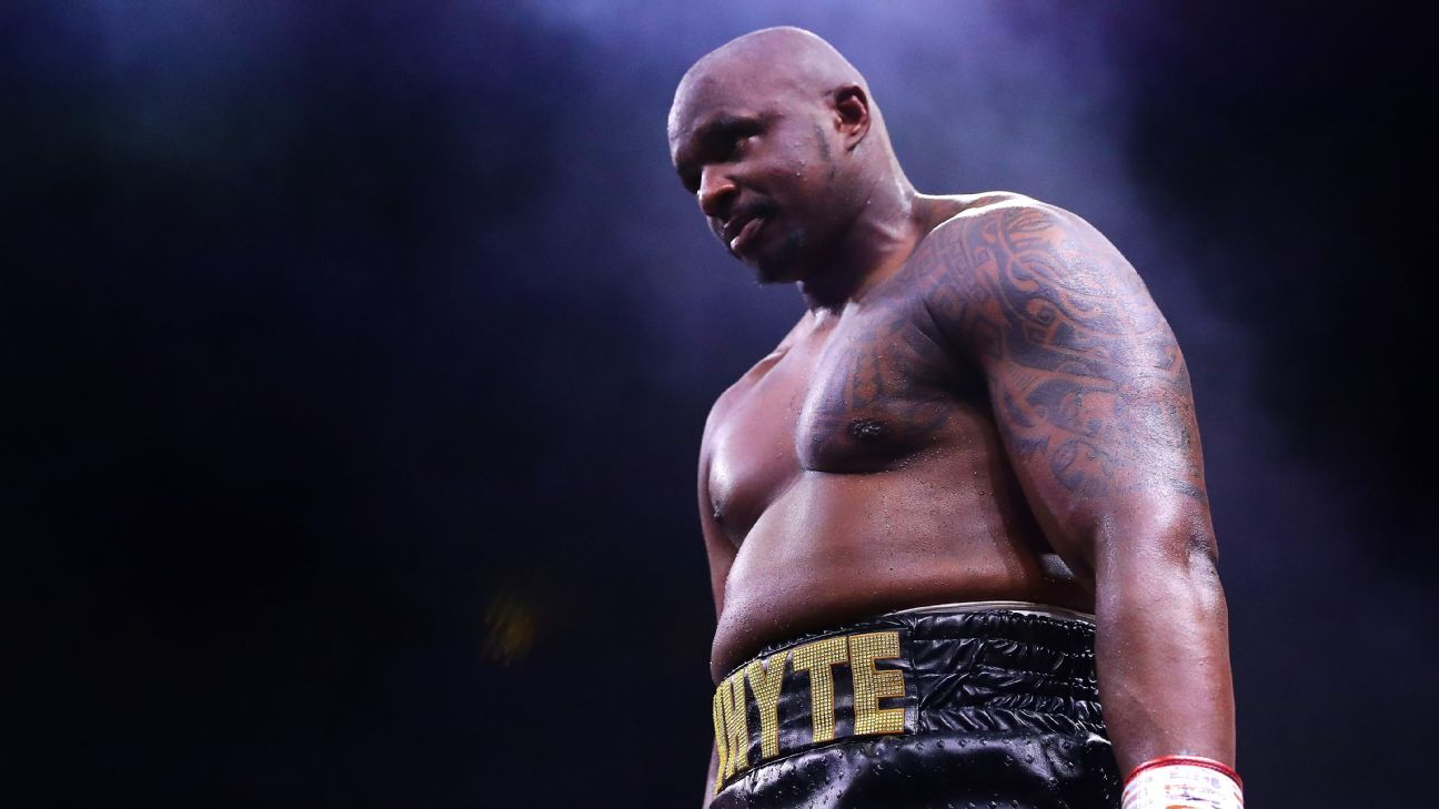 Whyte plans to fight Fury, not reschedule Wallin