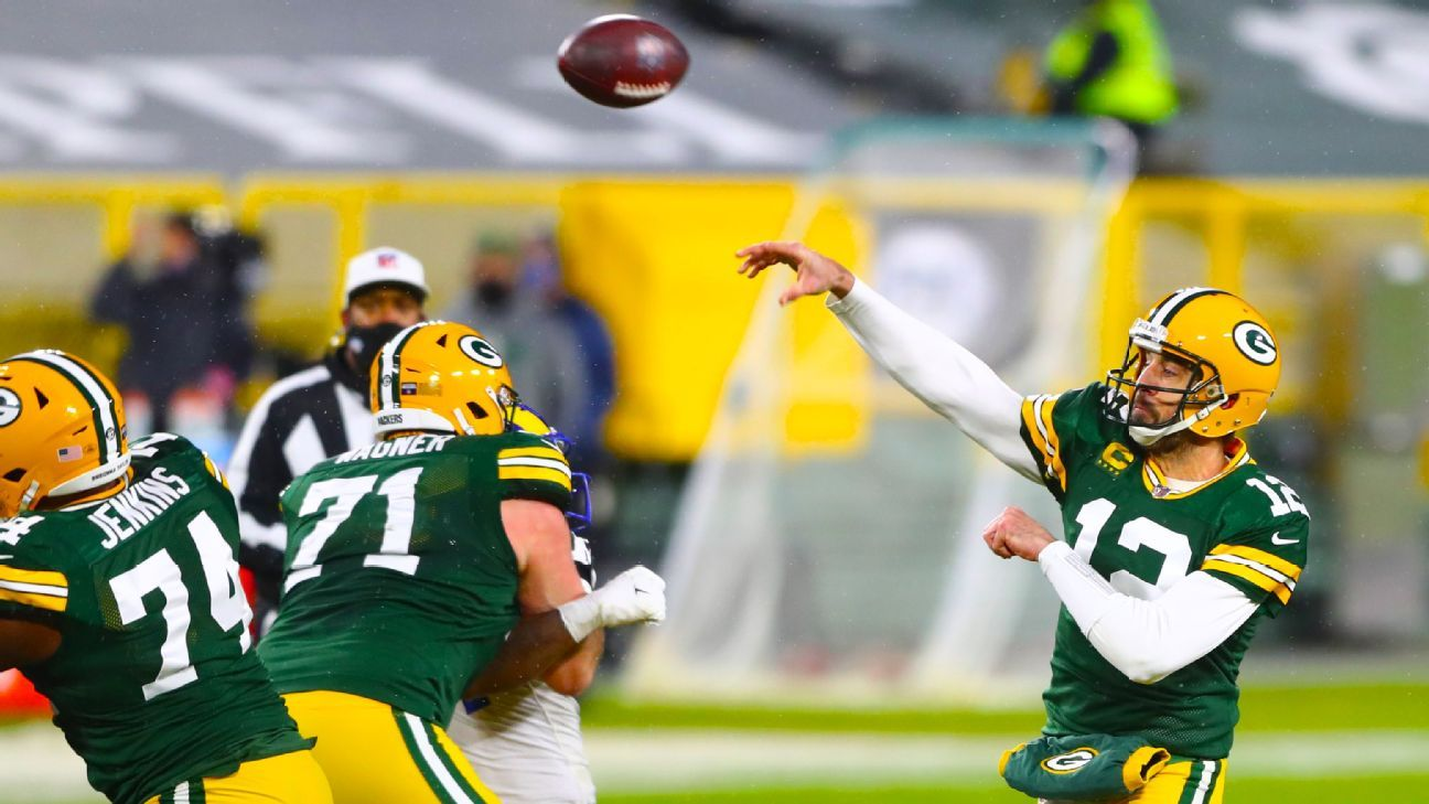 Rodgers lifts Pack to NFC title game at Lambeau