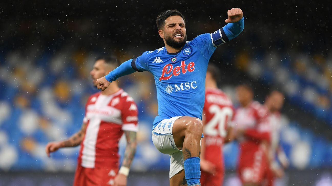 Napoli vs. Fiorentina - Football Match Report - January 17, 2021 - ESPN