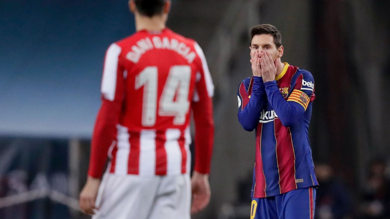 How Messi finally saw red after 753 zen-like Barcelona matches