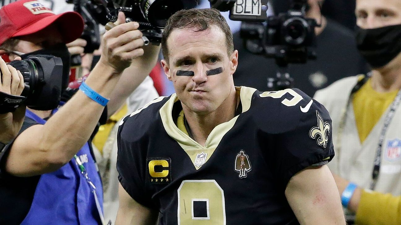 Pondering retirement again Drew Brees has 'no regrets' about coming back this season – ESPN