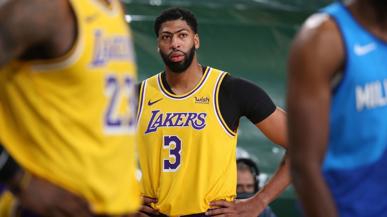 Los Angeles Lakers' Anthony Davis says he's seeking to get out of 'funk' – ESPN