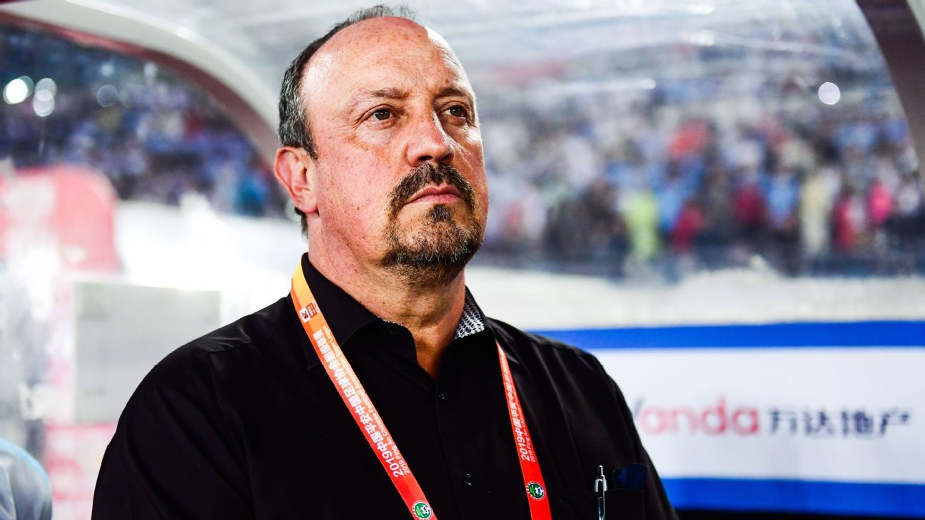 Rafael Benitez leaves Chinese club Dalian Pro, cites COVID-19 difficulties - ESPN
