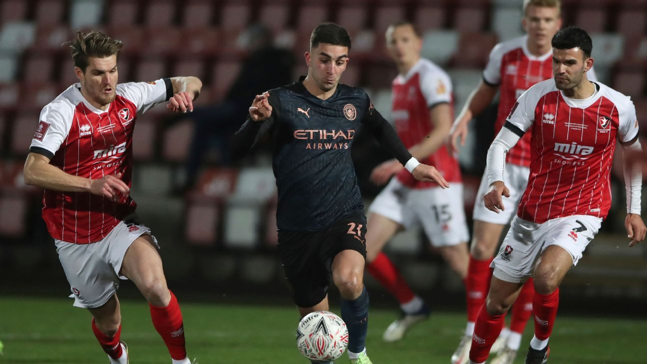 Cheltenham Town vs. Manchester City - Reporte del Partido - 23 enero, 2021 - ESPN