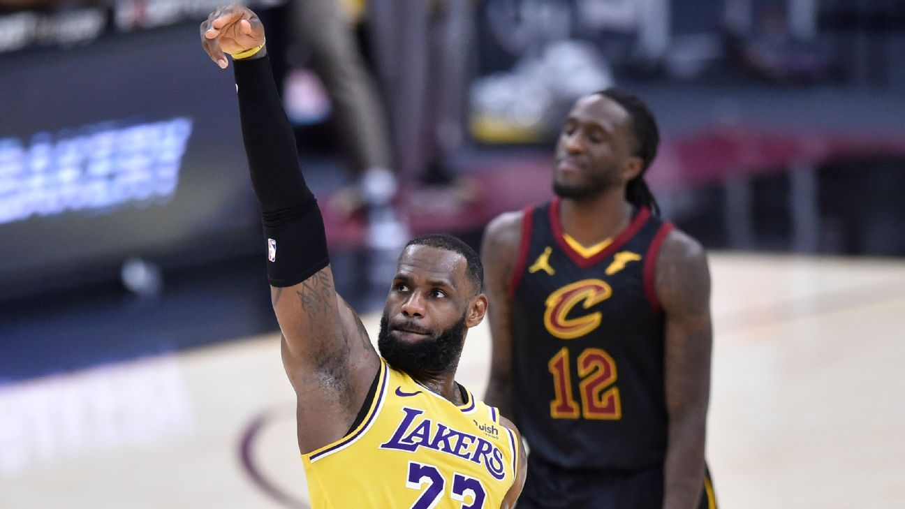 'Home cooking,' Cavs exec fuel LeBron in return