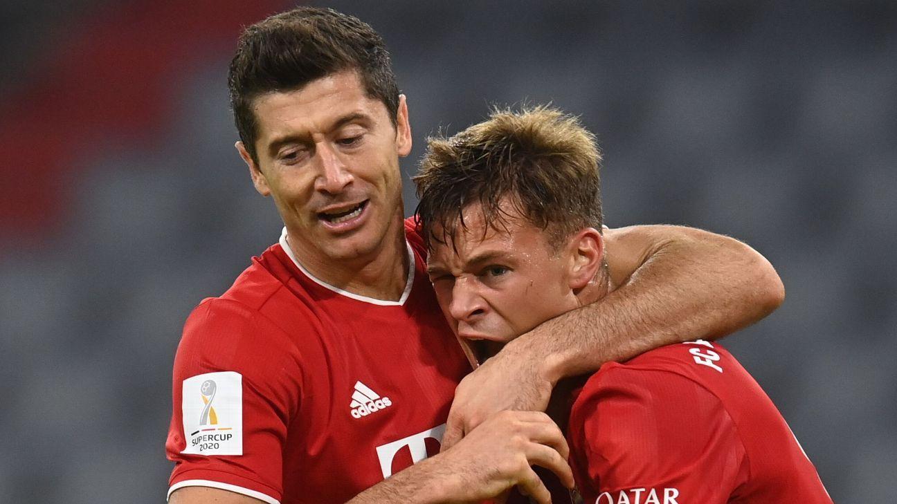 Kimmich Lewandowski Bayern Munich Dominate Bundesliga Midseason Awards