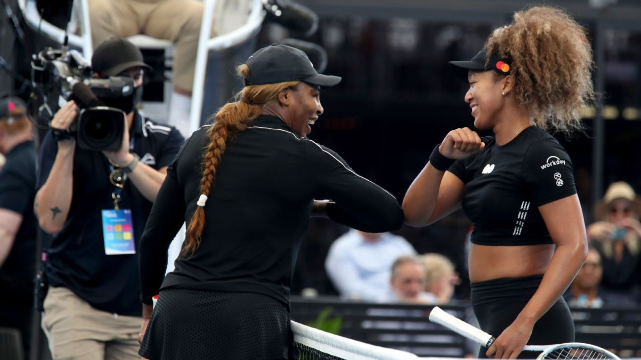 For Serena Williams and Naomi Osaka, nothing but respect -- and a desire to win