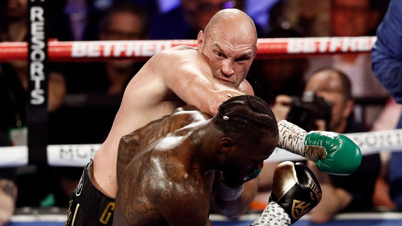 Sources: Tyson Fury-Deontay Wilder postponed after Fury tests positive for COVID-19