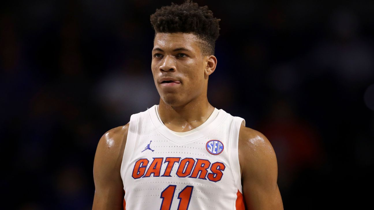 UF's Johnson won't enter draft, awaits OK to play