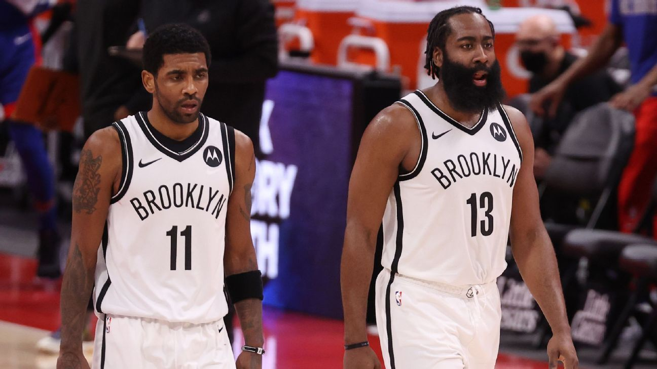 'Average'-looking Brooklyn Nets continue skid as defensive woes continue vs. Detroit Pistons - ESPN