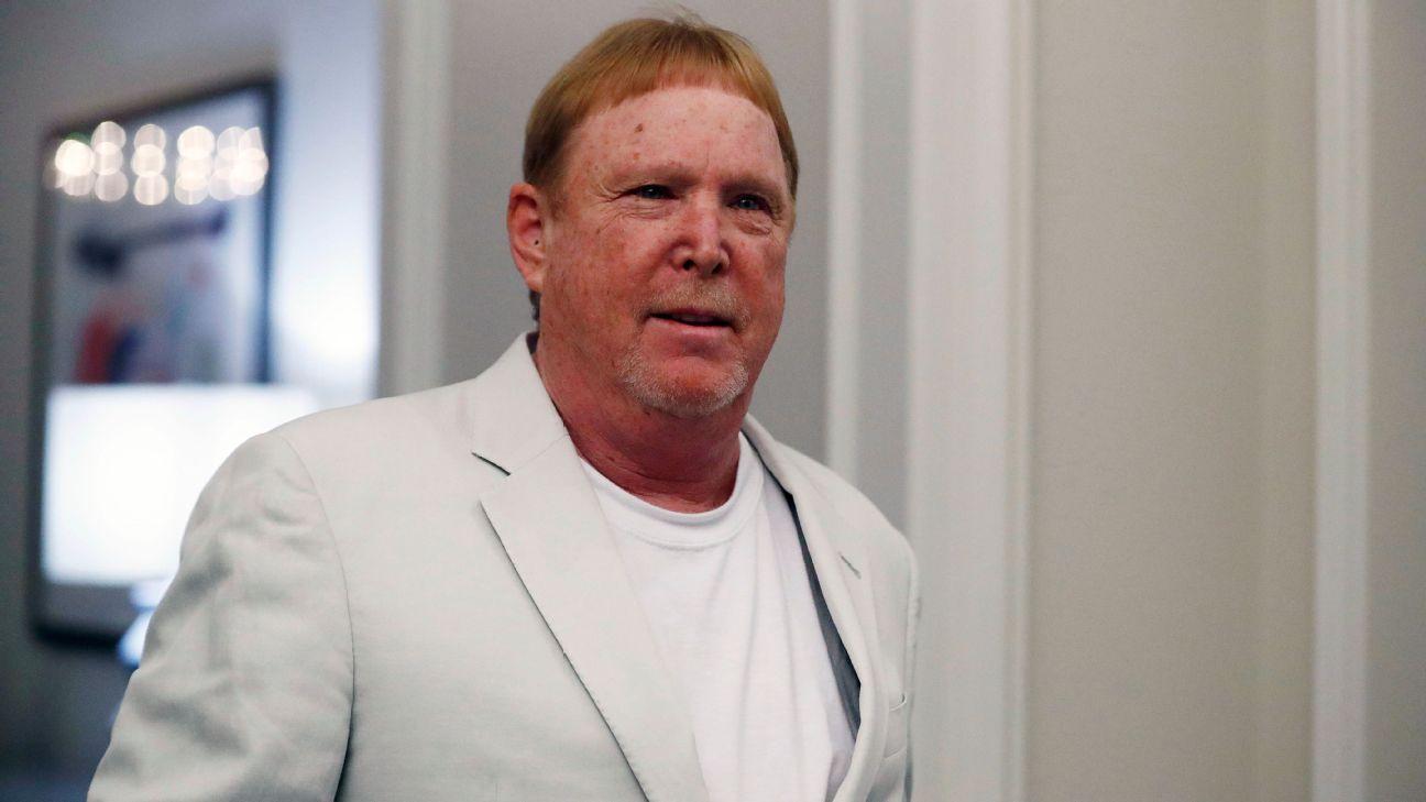Raiders owner Mark Davis in wake of Jon Gruden's resignation – NFL has 'all the answers' – ESPN