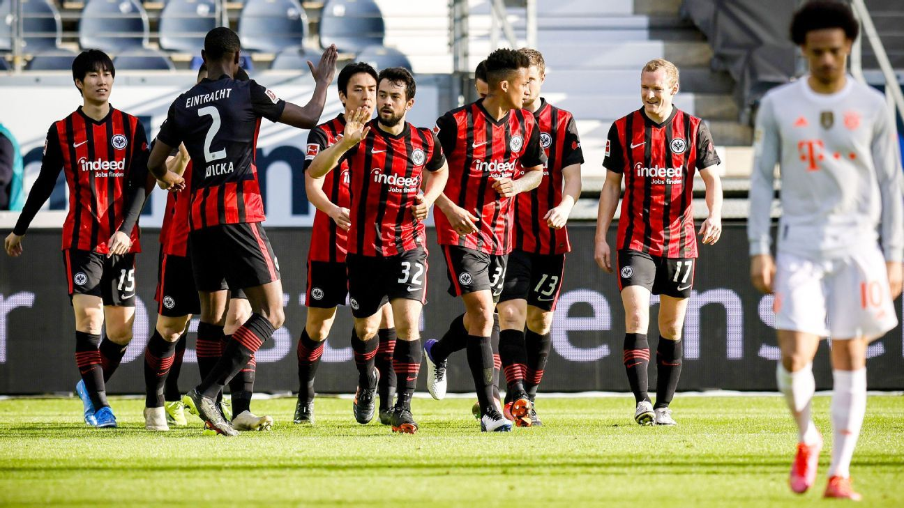 Eintracht Frankfurt Vs Bayern Munich Football Match Report February 20 2021 Espn
