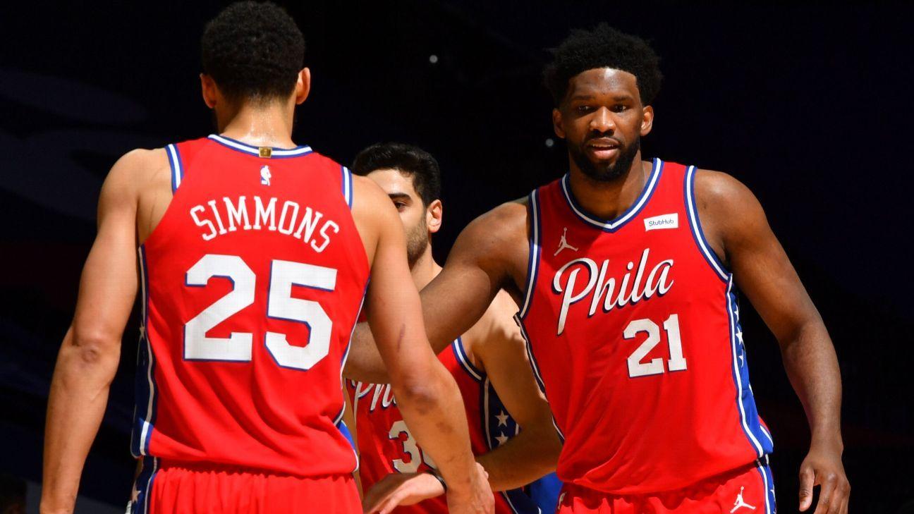 Philadelphia 76ers' Joel Embiid denies 'rift' exists with Ben Simmons