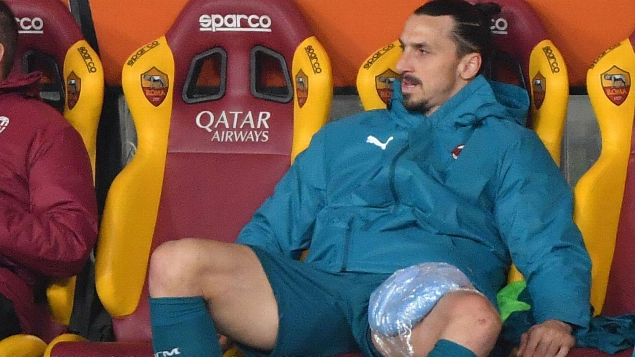 Milan's Ibrahimovic out of Man Utd Europa League first leg - sources - ESPN India