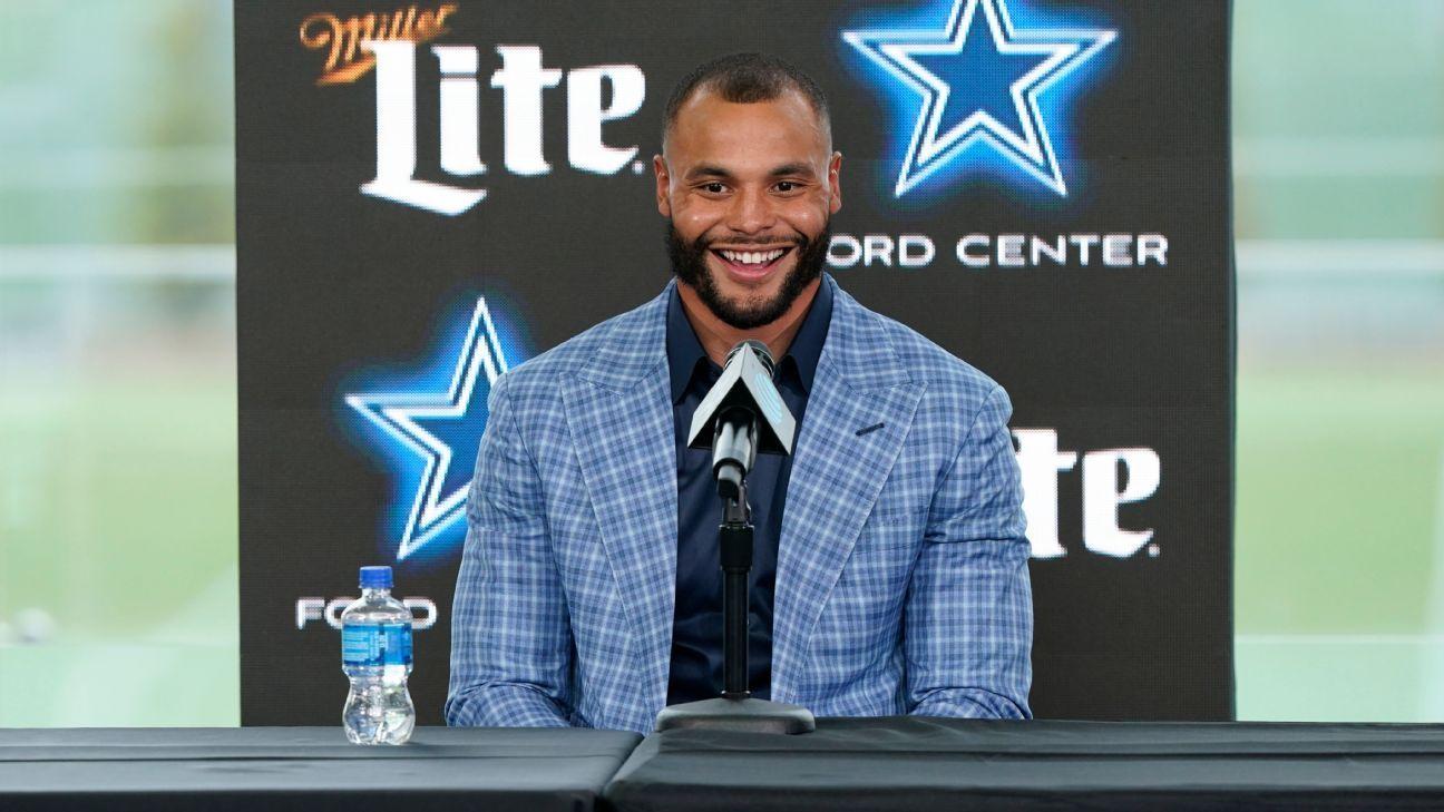 'Healthy' QB Dak Prescott eyes leading Dallas Cowboys to next year's Super Bowl - ESPN