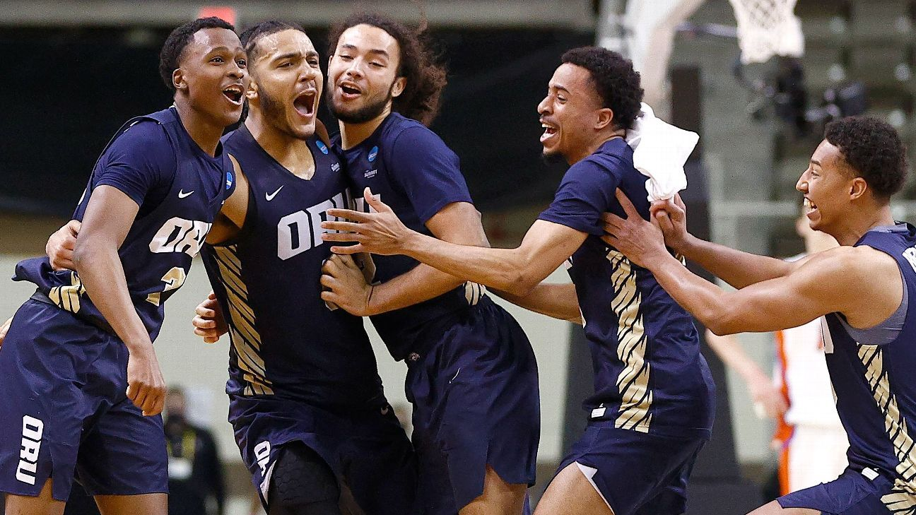 No. 15 Oral Roberts Upsets No. 7 Florida 81-78 to Advance to NCAA Tournament's Sweet 16