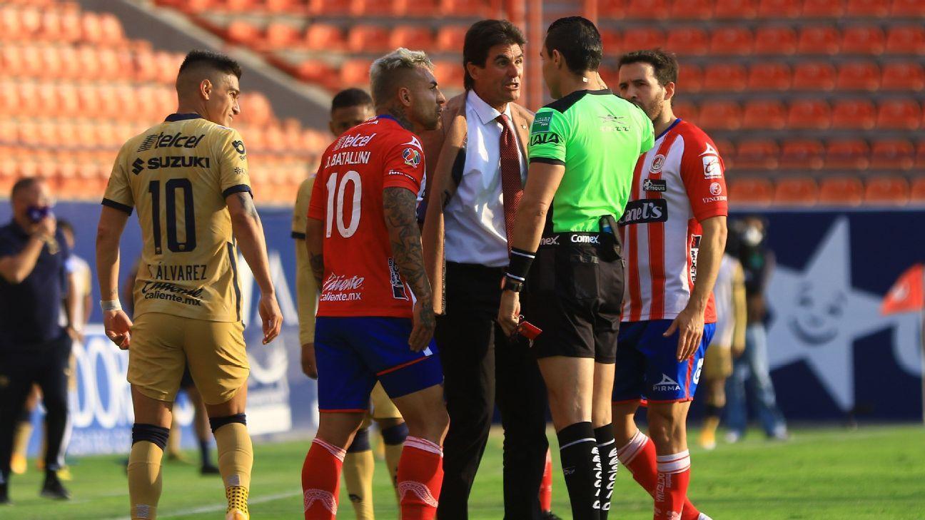 Leonel Rocco es suspendido por tres juegos en plena carrera por evitar el último lugar de la tabla del descenso
