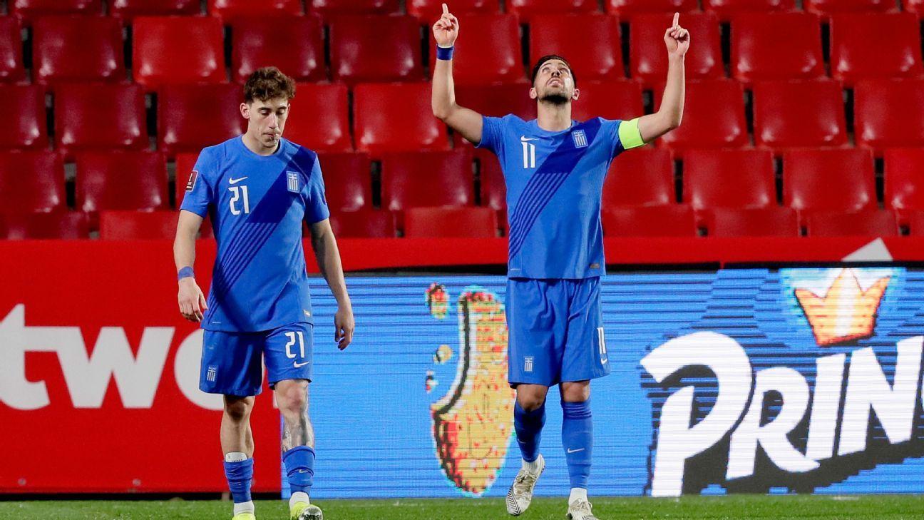 Spain vs. Greece - Football Match Report - March 25, 2021 - ESPN