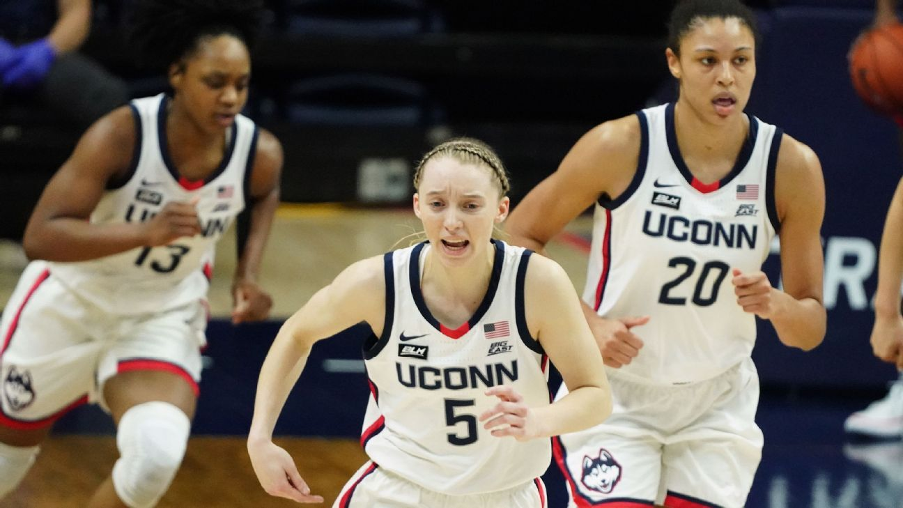 UConn reigns while South Carolina looms