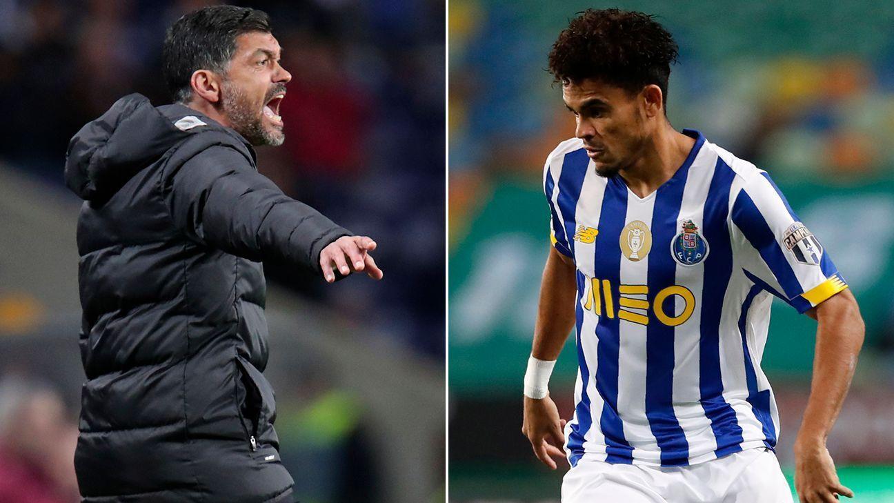 El técnico de Porto reveló qué espera de Luis Díaz ante Chelsea por la UEFA Champions League