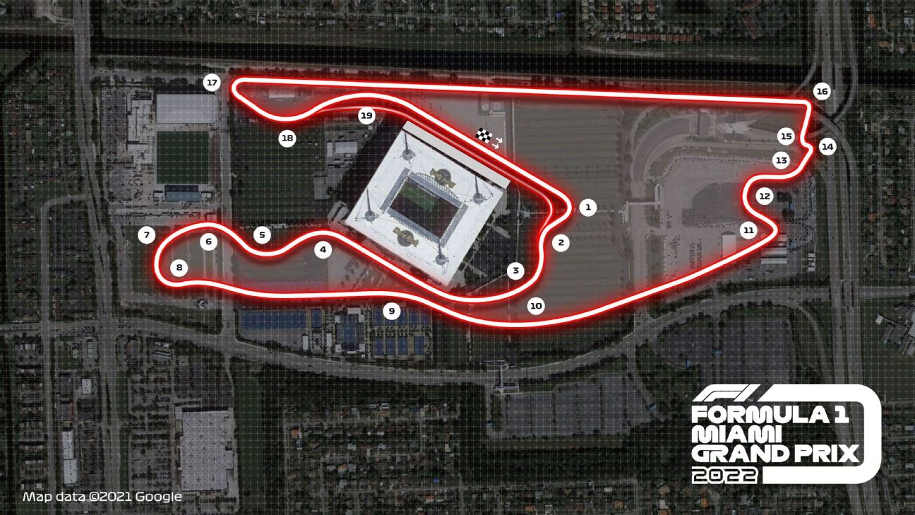 F1 confirms race in Miami from 2022