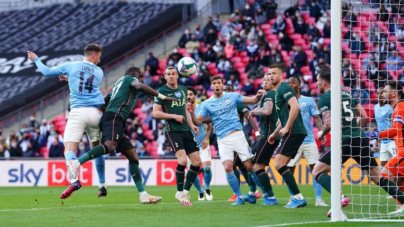 Manchester City vs. Tottenham Hotspur - Reporte del Partido - 25 abril, 2021 - ESPN
