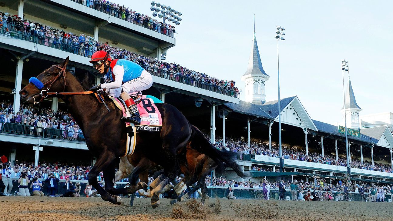 Derby champ faces DQ; Baffert banned by track