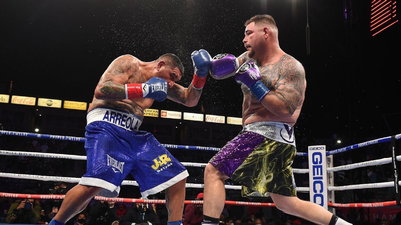 Andy Ruiz defeats Chris Arreola by unanimous decision – ESPN