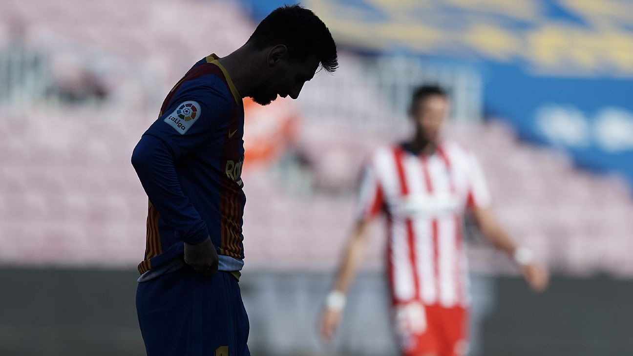 Así queda el panorama de LaLiga tras el empate entre Barcelona y Atlético de Madrid