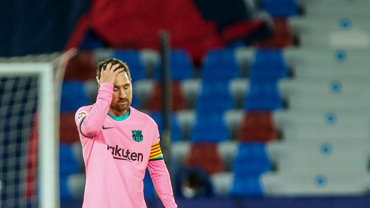Impulso financiero de LaLiga favorecerá la renovacion de Messi con el Barcelona